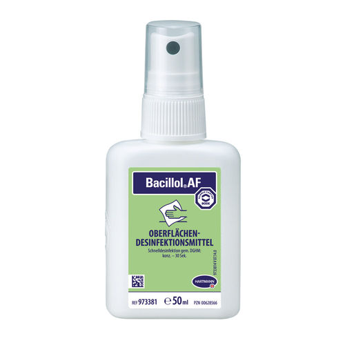 Bacillol AF Rapid surface disinfecting, 50 ml