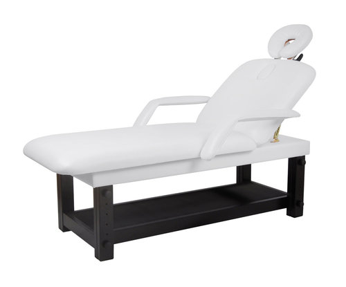 Wooden Spa Bed RADUS, Dark Base