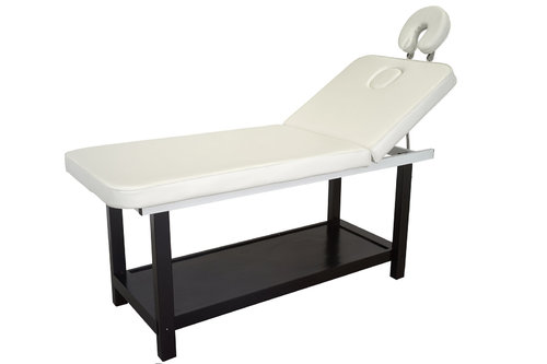 Wooden Spa Bed ROMBO, Dark Base