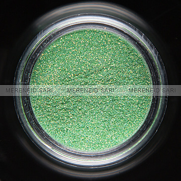 Glitter Hologram Light Green 3 g