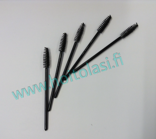 Disposable mascara brushes, black 50 pcs