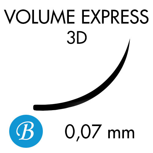 VOLUME EXPRESS 3D /B-kaari /0,07mm