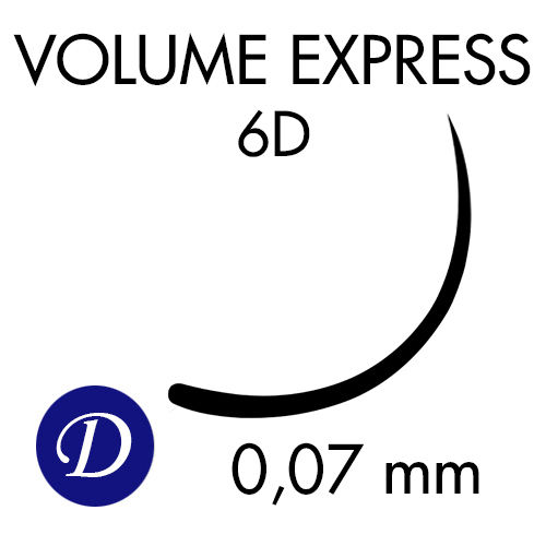 VOLUME EXPRESS 6D /D-kaari /0,07mm