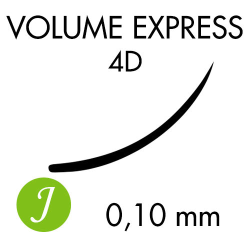 VOLUME EXPRESS 4D /J-kaari /0,10mm