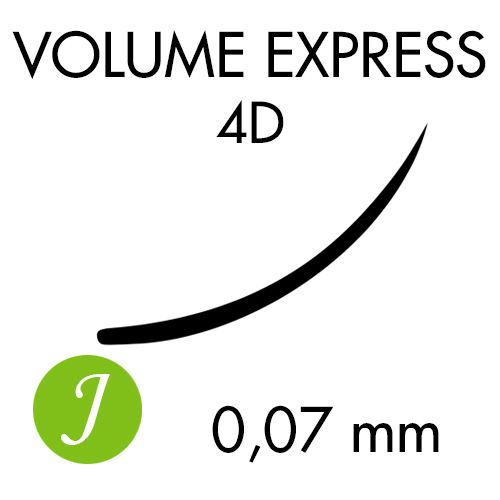 VOLUME EXPRESS 4D /J-kaari /0,07mm