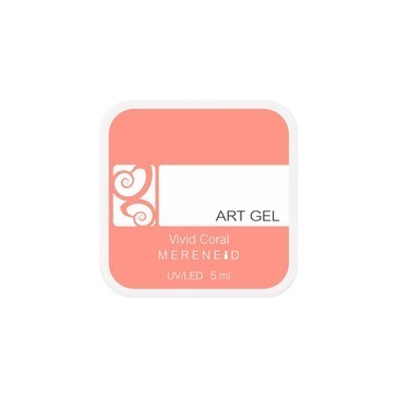 Art gel - Vivid Coral - 5ml