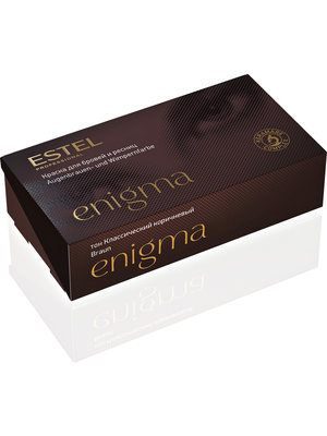 Estel Enigma dye for eyebrows- and lashes